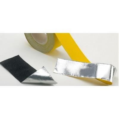 Формуемая противоскользящая лента, желтая 100 мм - 18,3 м