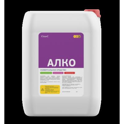 Слабощелочное моющее высокопенное средство АЛКО, 20 л
