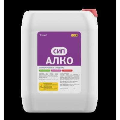 Щелочное универсальное беспенное моющее средство АЛКО СИП, 20 л