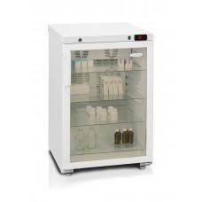Холодильник для косметики Бирюса 150 тонированное стекло