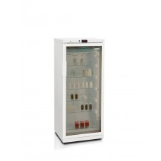 Фармацевтический холодильник Бирюса 250/6 тонированное стекло