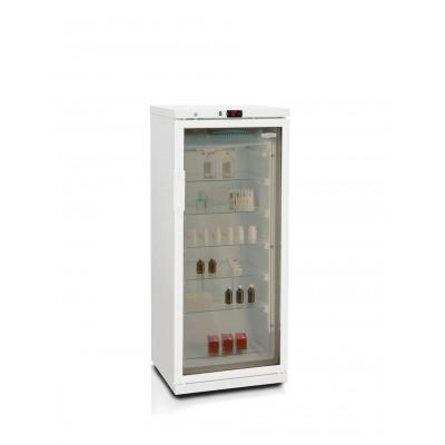 Холодильник для косметики Бирюса 250/6 тонированное стекло