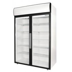 Фармацевтический холодильник Полаир ШХФ-1,0 ДС стекло