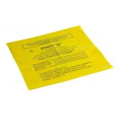 Пакет для сбора медицинских отходов 330х300 мм желтый