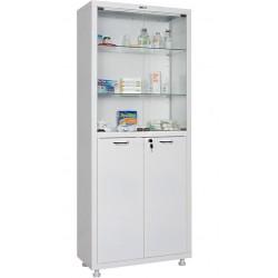 Шкаф медицинский двустворчатый HILFE МД 2 1670/SG