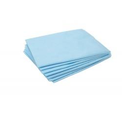 Простынь  н/с 70х200 см. SMS-20 г/м2, голубая (упаковка 10 шт)