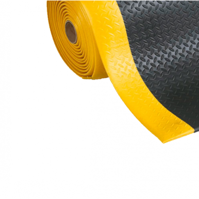 Противоусталостное покрытие Foam Safe Anti-Fatique Mat 900х18000х10 мм черное
