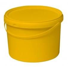 Бак для сбора, хранения и перевозки медицинских отходов (многоразовый с крышкой) 12 л