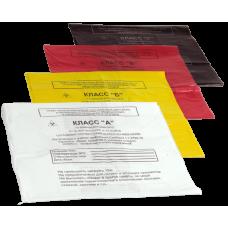 Пакет полиэтиленовый для сбора медицинских отходов 330х300 мм